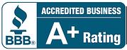 Better Business A+ Rating logo